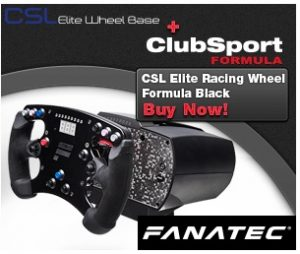 BUY CSL Elite Racing Wheel Formula for PC