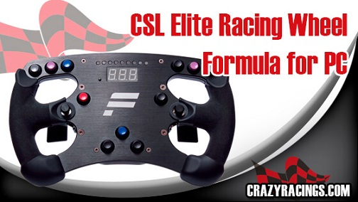 Review CSL Elite Racing Wheel Formula for PC-CR1
