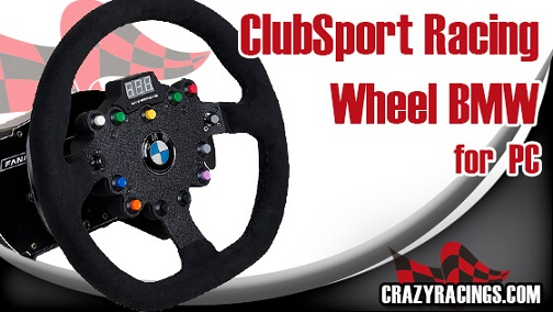 Fanatec Clubsport Racing Wheel BMW For PC Review - 2019