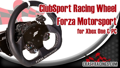 Review Fanatec ClubSport Racing Wheel Forza Motorsport for Xbox One & PC-CR1