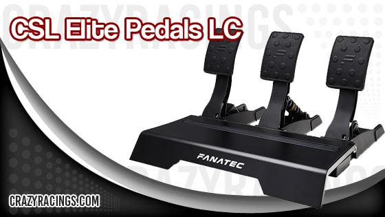 Fanatec CSL Elite Pedals LC Features