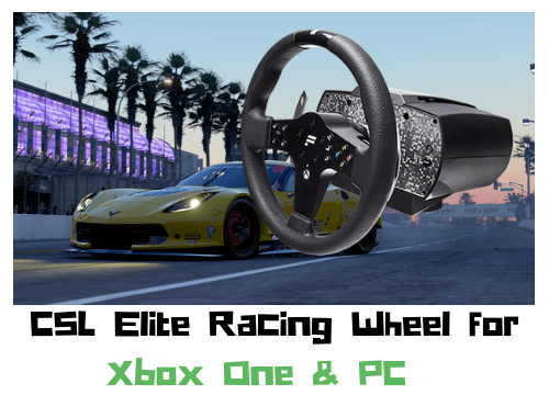 CSL Elite Racing Wheel for Xbox One & PC - Analisis