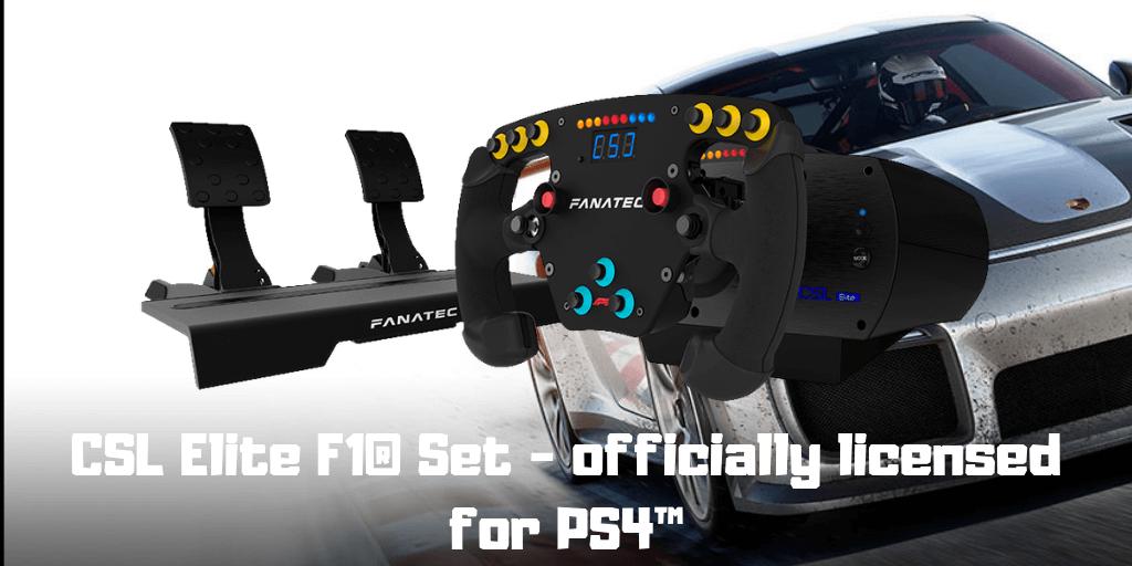 CSL Elite F1® Set - officially licensed for PS4™