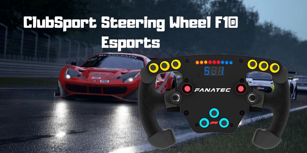 ▷ ClubSport Steering Wheel F1® Esports