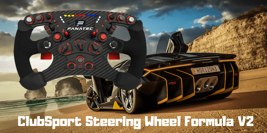 ClubSport Steering Wheel Formula V2