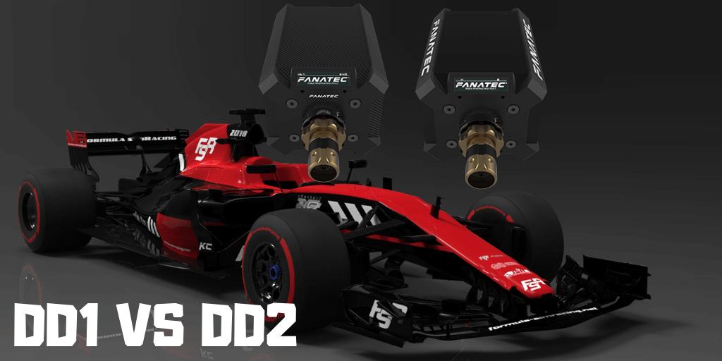 Fanatec DD1 Vs DDR2