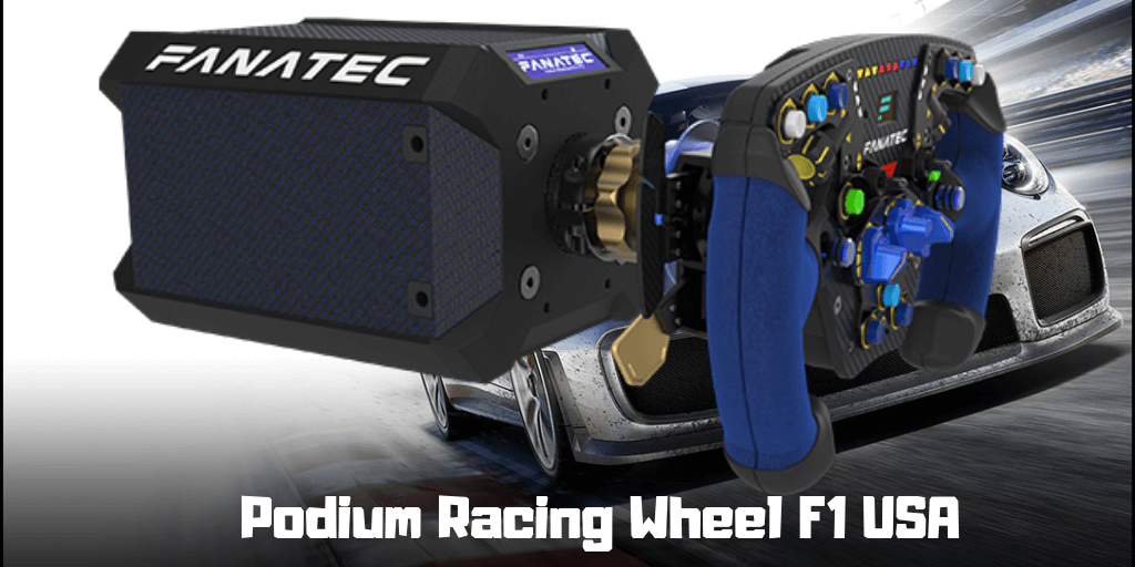 Podium Racing Wheel F1 USA