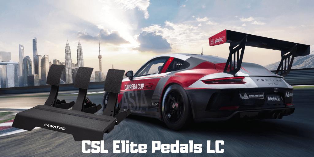 ▷ Fanatec CSL Elite Pedals LC 【2019 Review】