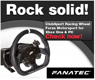 Fanatec clubsport racing wheel forza motorsport for PC and Xbox