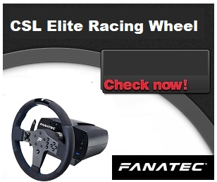 CSL Elite Racing Wheel - officially licensed for PS4™""