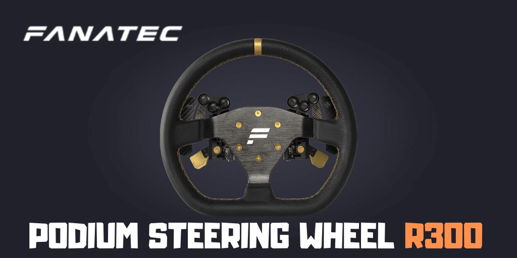 Podium Steering Wheel R300 Review