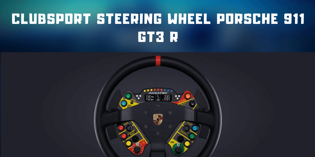 ClubSport Steering Wheel Porsche 911 GT3 R