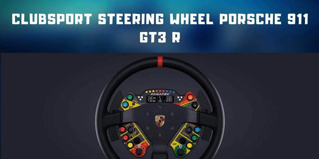 ClubSport Steering Wheel Porsche 911 GT3 R