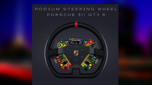 Podium Steering Wheel Porsche 911 GT3 R