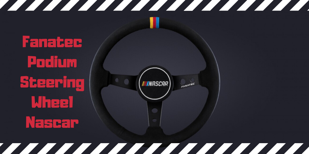 Fanatec Podium Steering Wheel Nascar