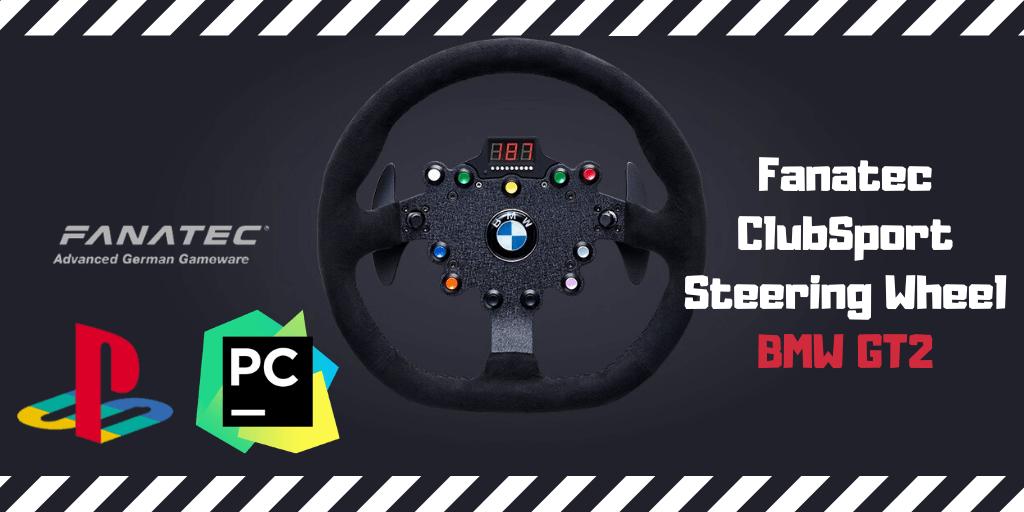 Fanatec ClubSport Steering Wheel BMW GT2