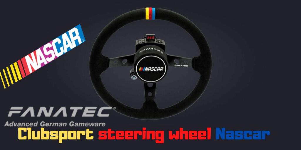 Review Clubsport steering wheel Nascar