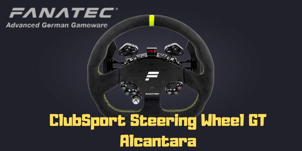 review ClubSport Steering Wheel GT Alcantara
