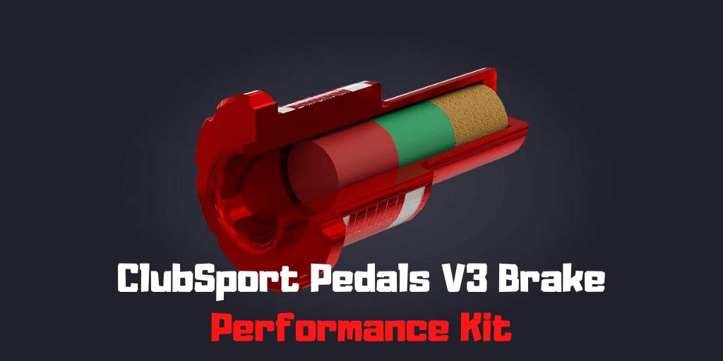 ClubSport Pedals V3 Brake Performance Kit