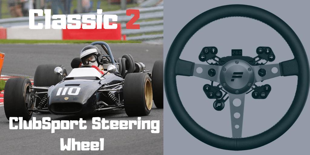 Fanatec ClubSport Steering Wheel Classic 2