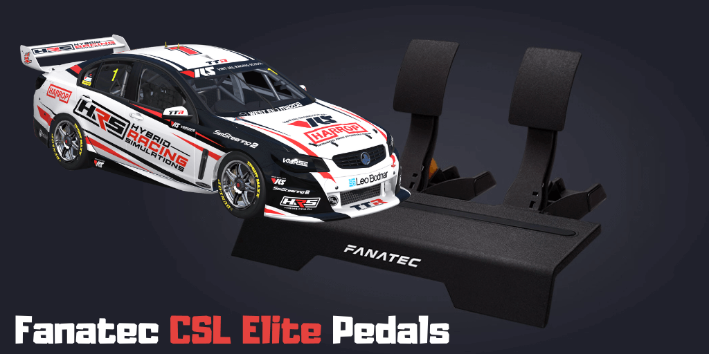 Fanatec CSL Elite Pedals