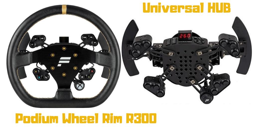 Simracing clubsport Steering Wheel R300
