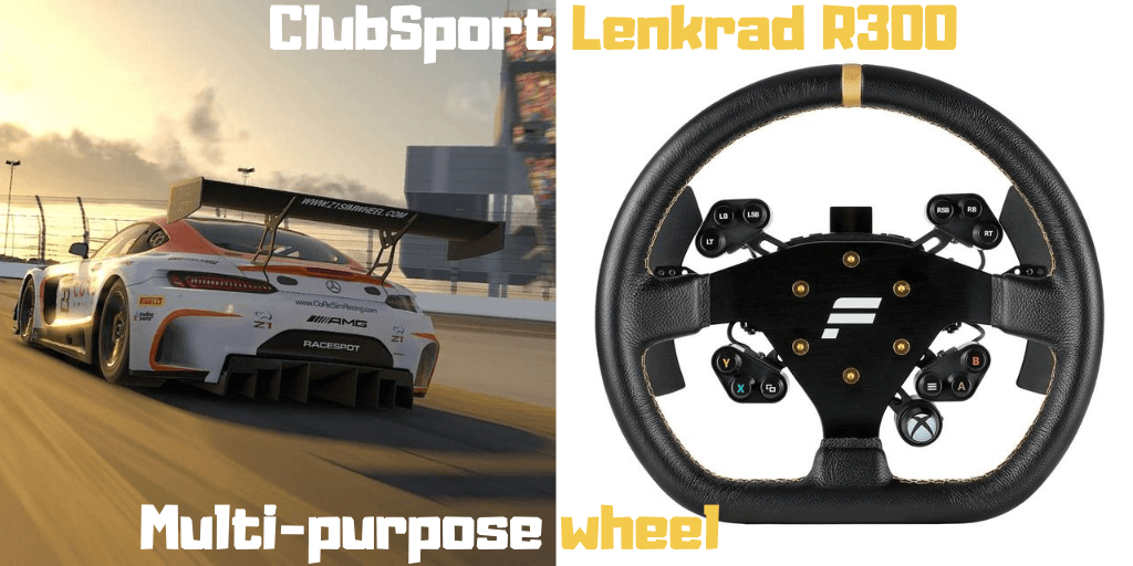 Fanatec ClubSport Lenkrad R300 product review