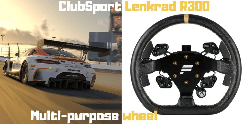 Fanatec ClubSport Lenkrad R300 product review