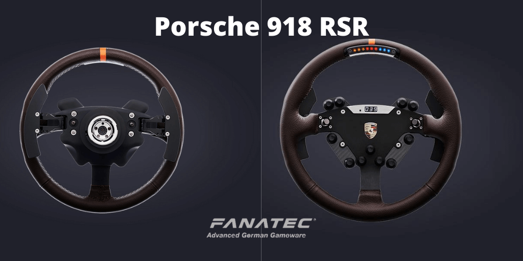 Fanatec Porsche 918 RSR - Features