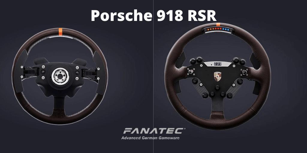Fanatec Porsche 918 RSR - Features