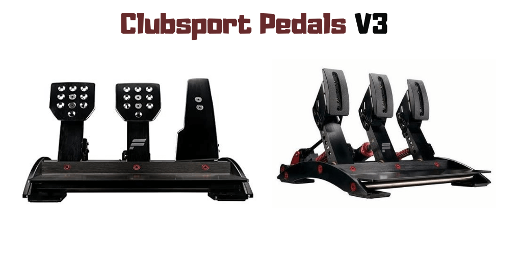 clubsport pedals v3 Basic Specifications