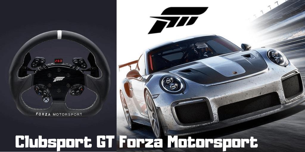 Fanatec clubsport steering wheel GT Forza Motorsport