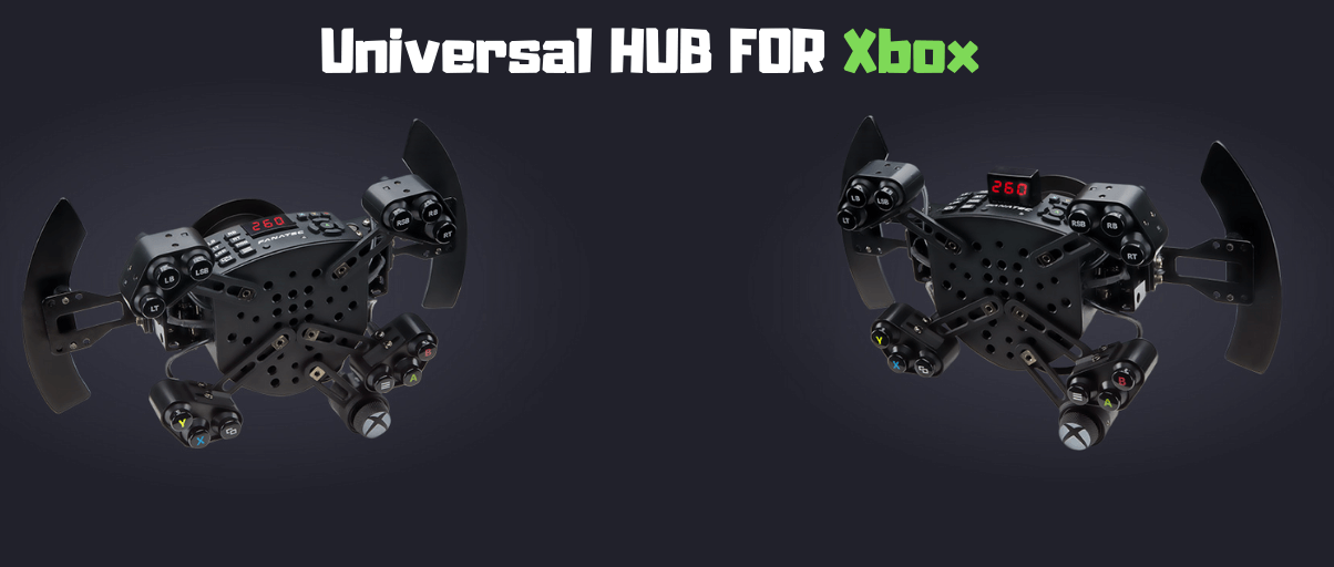 Fanatec ClubSport Steering Wheel Universal Hub for XBOX ONE Design