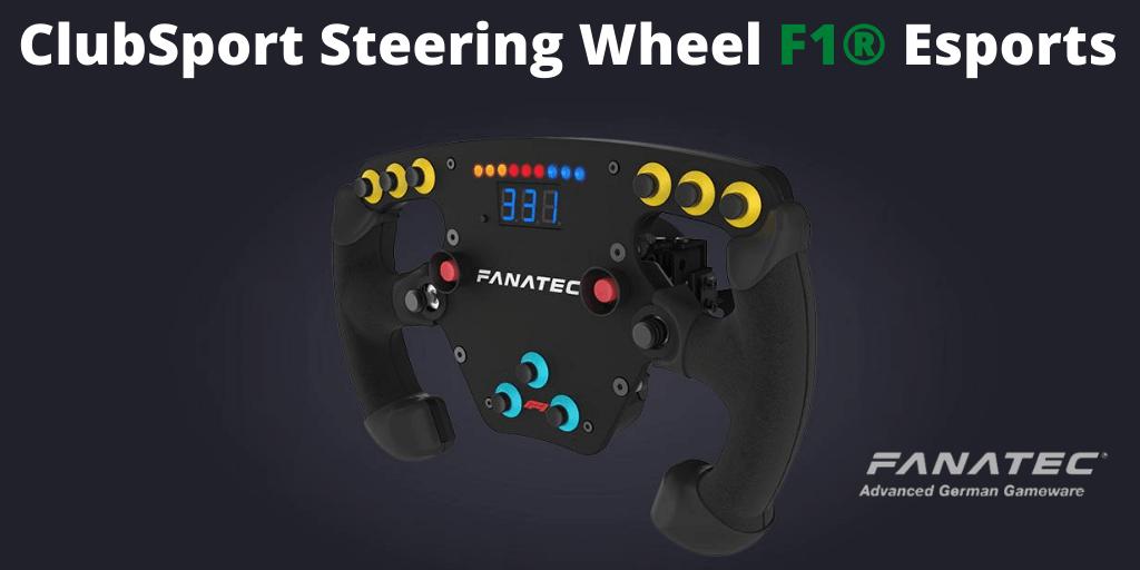 The Clubsport Steering Wheel F1 Esports