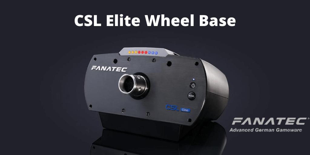 The CSL Elite wheel base