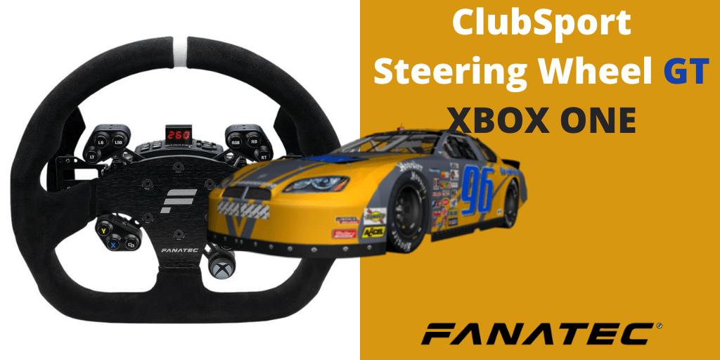 Fanatec ClubSport Steering Wheel GT XBOX ONE