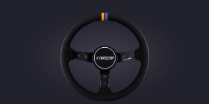 Podium Steering Wheel Nascar