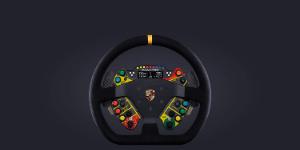 Podium Steering Wheel Porsche 911 GT3