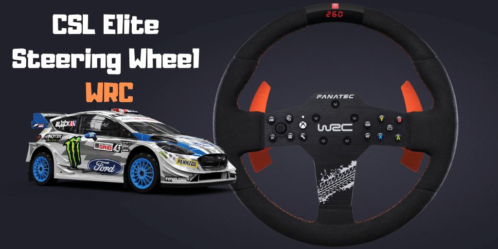 Fanatec CSL Elite Steering Wheel WRC