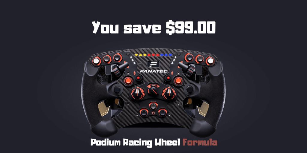 Podium Racing Wheel Formula
