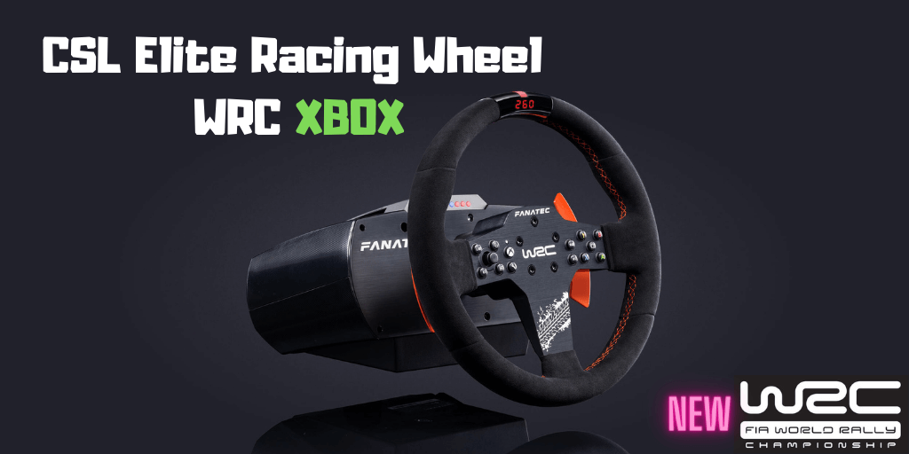 CSL Elite Racing Wheel WRC for Xbox One & PC