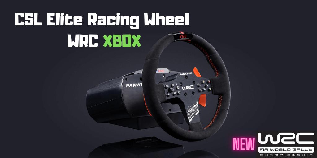 CSL Elite Racing Wheel WRC for Xbox One & PC