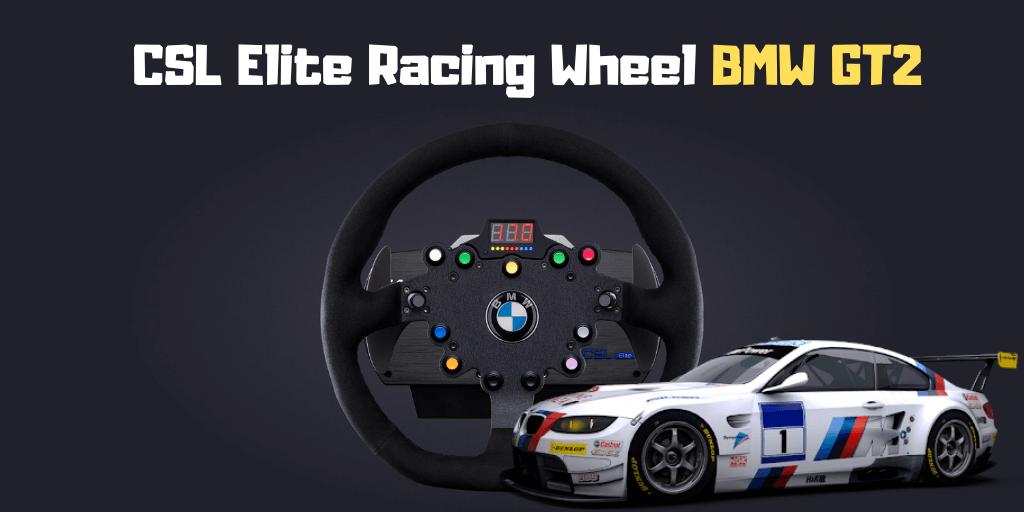 CSL Elite Racing Wheel BMW GT2