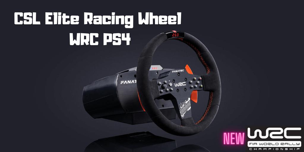 CSL Elite Racing Wheel WRC PS4