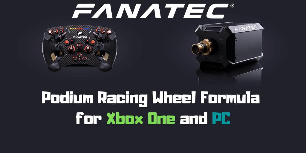 Podium Racing Wheel Formula for Xbox One & PC