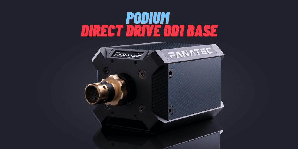 Podium Wheel Base DD1 PS4™
