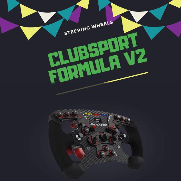 Clubsport Formula V2 - Best Steering Wheel 2020