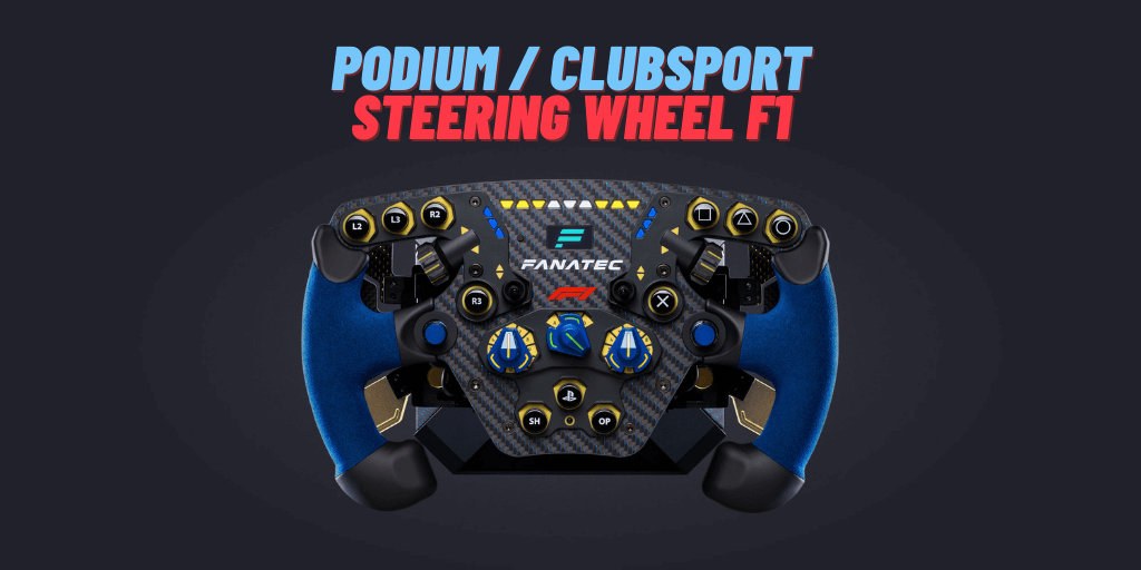 ClubSport Steering Wheel F1® PS4™