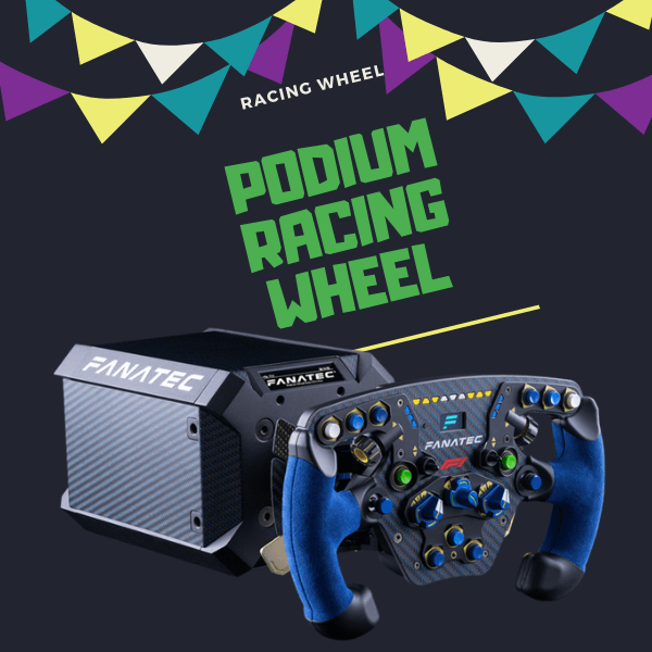 Podium Racing Wheel F1 - Best racing wheel of 2020