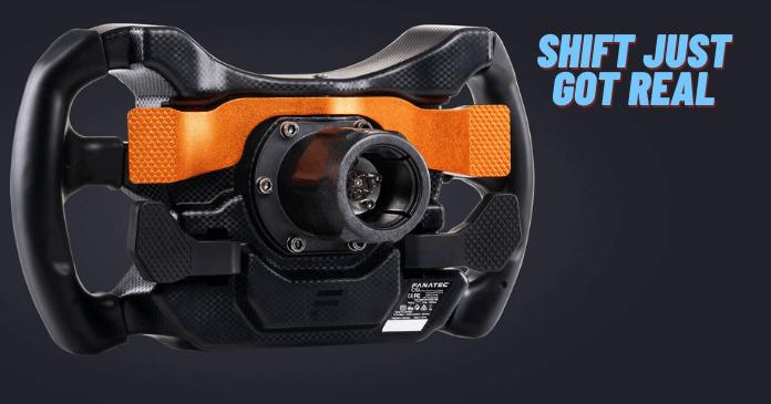 CSL Elite Steering Wheel McLaren GT3 V2 features